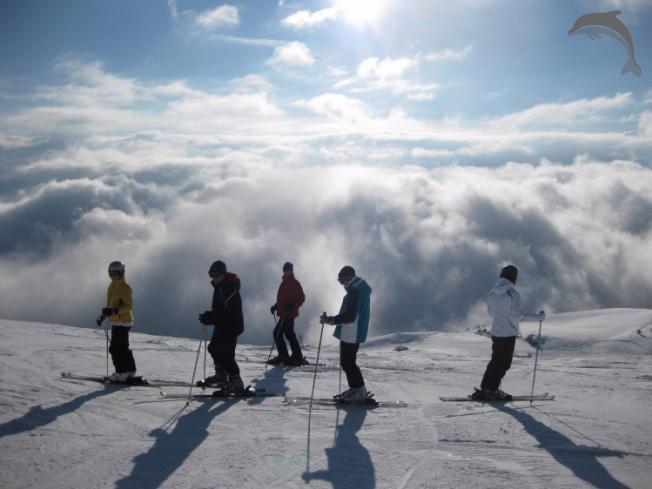 Singlereis Wintersport in Oostenrijk en Italië
