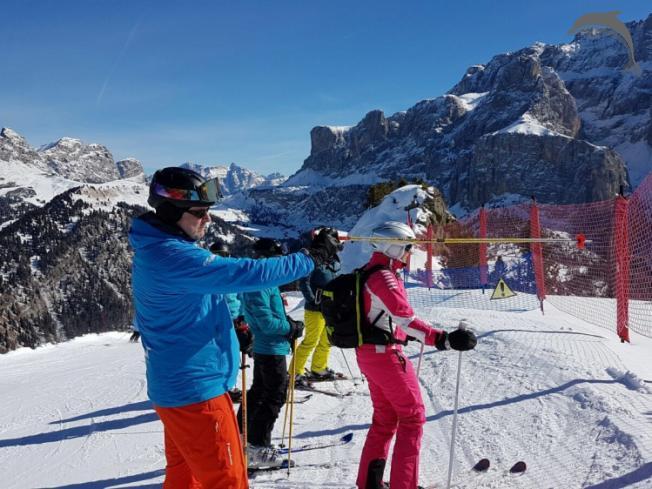 Singlereis Wintersport Huttentocht in Italië