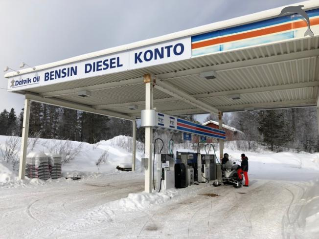 Groepsreis Sneeuwscootersafari in Zweden
