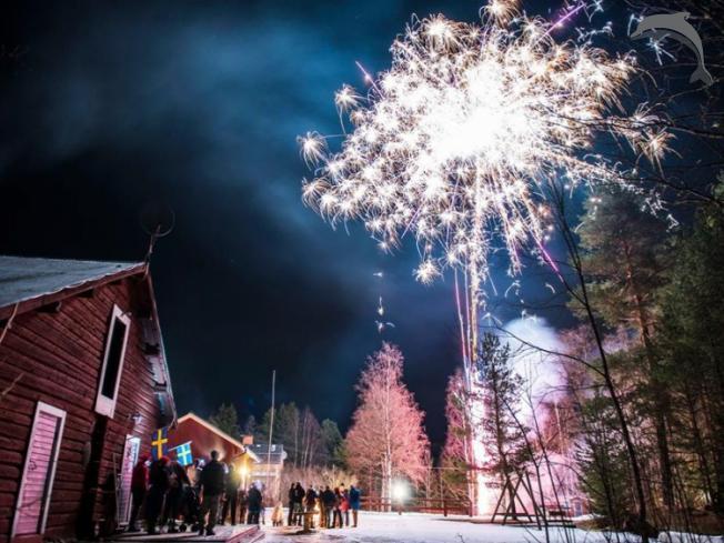 Singlereis Winters Avontuur Johannisholm, Zweden