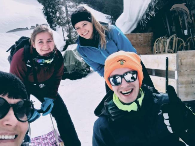 Groepsreis Italie Lawine van sneeuwpret!