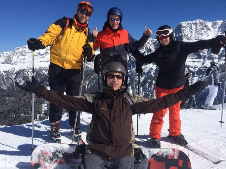 Singlereis Genieten van wintersport in Pinzolo