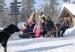 Het wonderlijke winterparadijs Dalarna, Zweden Zweden